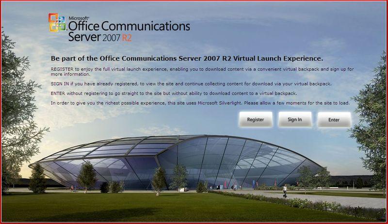 OCS 2007 Virtual Launch