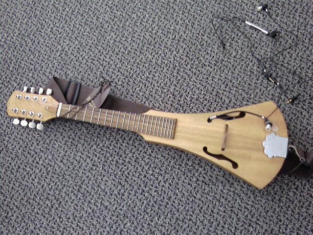 Backpacker mandolin