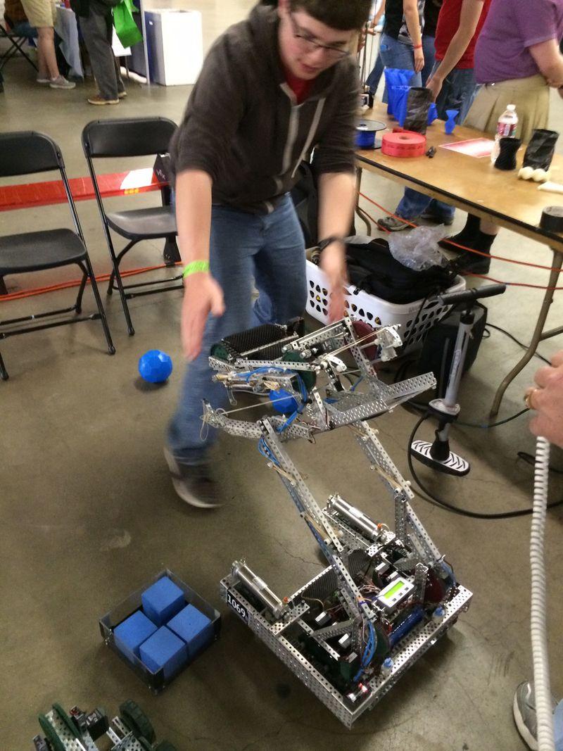 Robotballplayer